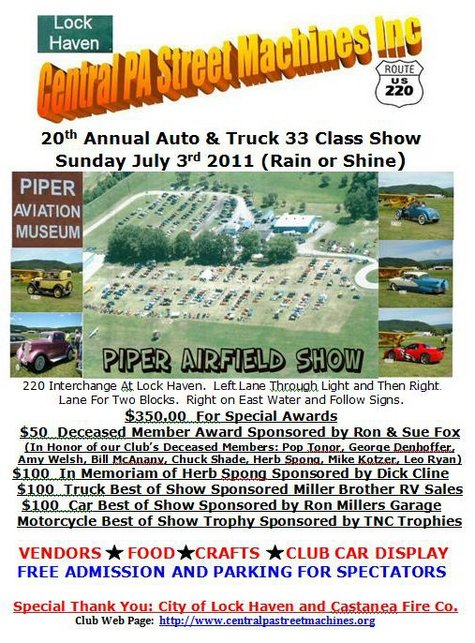 Central Pennsylvania Car Show